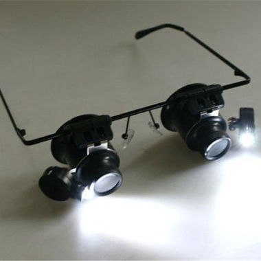 Repair Magnifier with LED Light