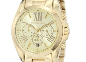 Michael Kors Women's Bradshaw Gold Watch