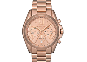 MK Bradshaw Rose Gold Chronograph