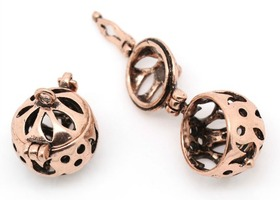 Copper Wish Box Charms