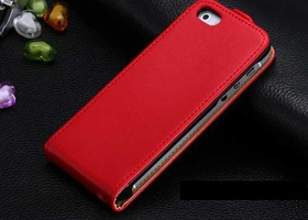 Luxury Premium Leather Flip Case,5c,5s,5