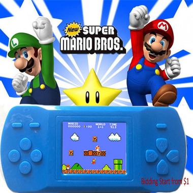 Classic Game Console Portable Video Game Handheld Player Built-in 200+ Games Mod