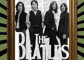 The Beatles 1970 Book Page Print