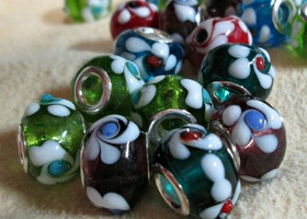PinWheels in the Summer Euro Beads