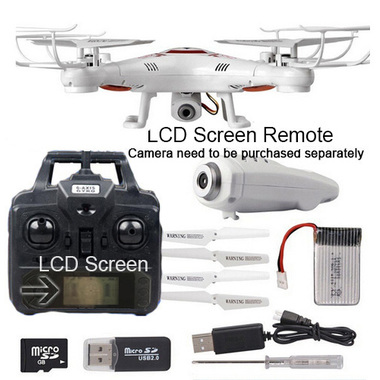 LCD Screen Remote Control New Colorful Flying LED Aircraft More intuitive contro