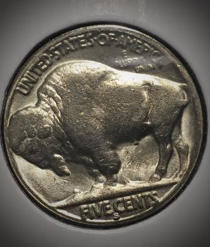Hobo Buffalo Nickel 1937 Coin