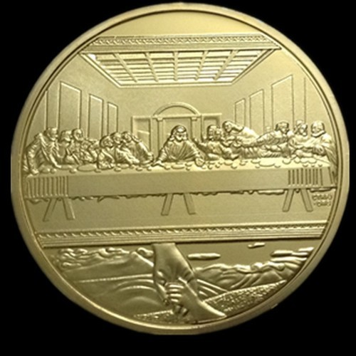 24K Gold Clad One Troy Ounce by worldbusinesszone.com